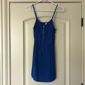 Divided Blue Sundress